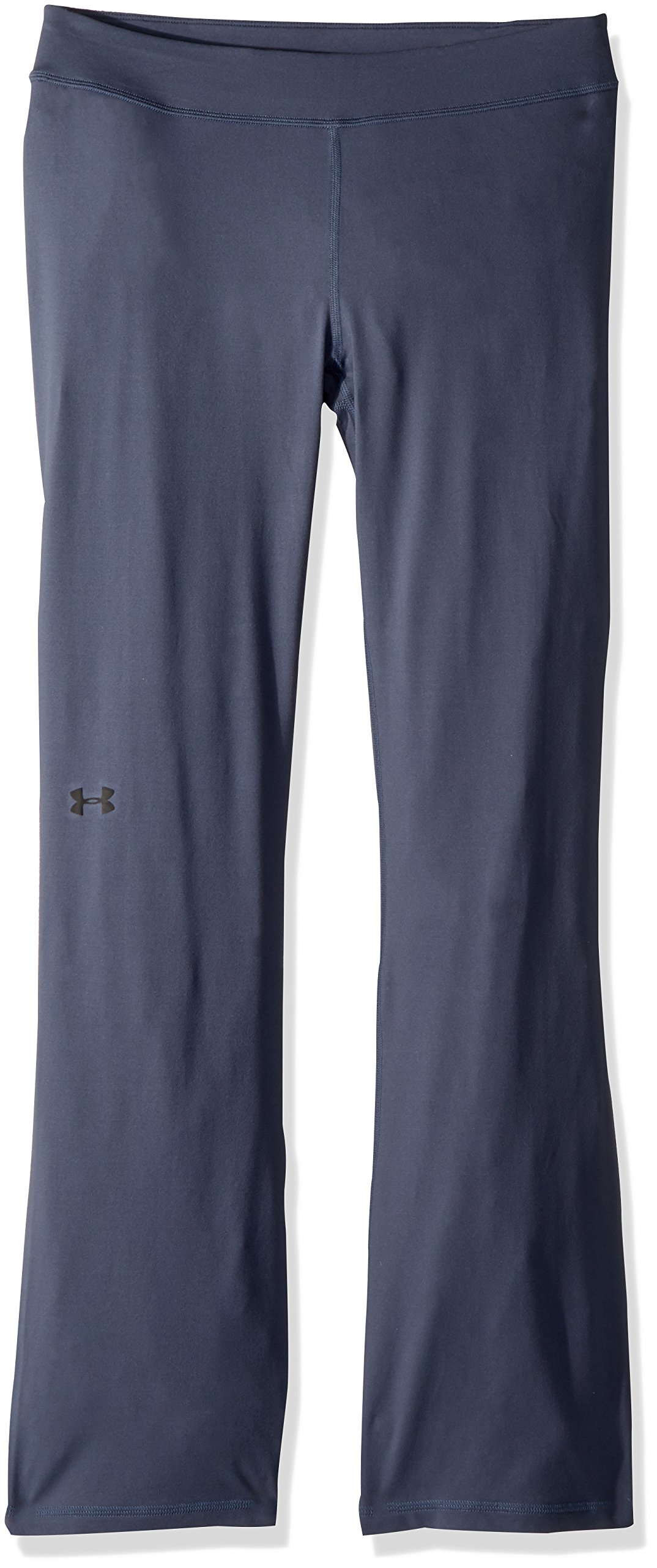 Under Armour Girls Elevated Training Flare Pants,Apollo Gray (962)/Black, Youth Large