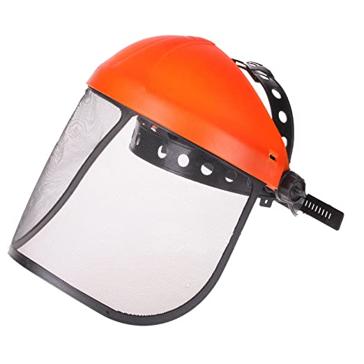 Casco de seguridad para motosierra ZFE desbrozadora cortadora de ...