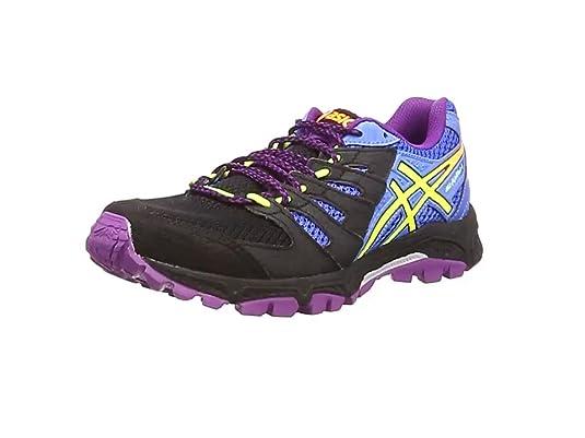 ASICS Gel-Fujiattack 4 - Zapatillas de deporte para mujer, color negro, talla