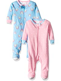 1fa906350a39 Baby Girl s One Piece Footies