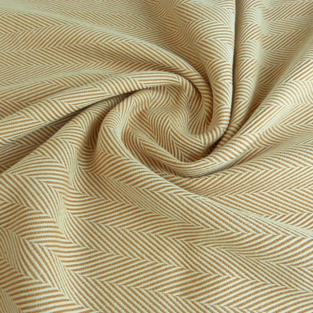 Didymos Woven Wrap Baby Carrier Lisca/Herringbone Savanna (Organic Cotton), Size 3
