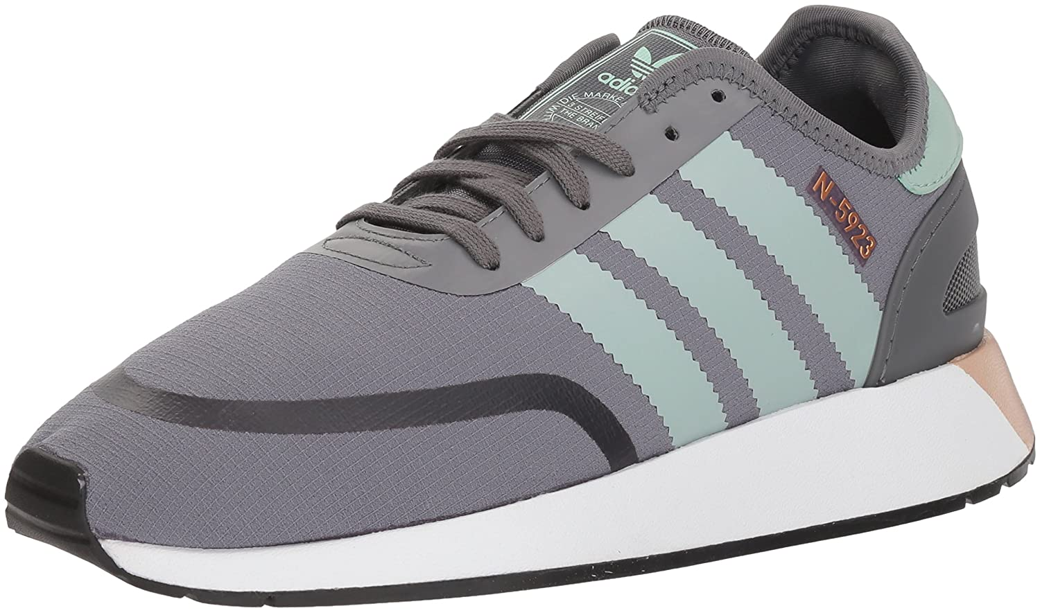 Adidas Women's Iniki Runner CLS W B0725QCTCW 5 B(M) US|Grey Four/Ash Green/White