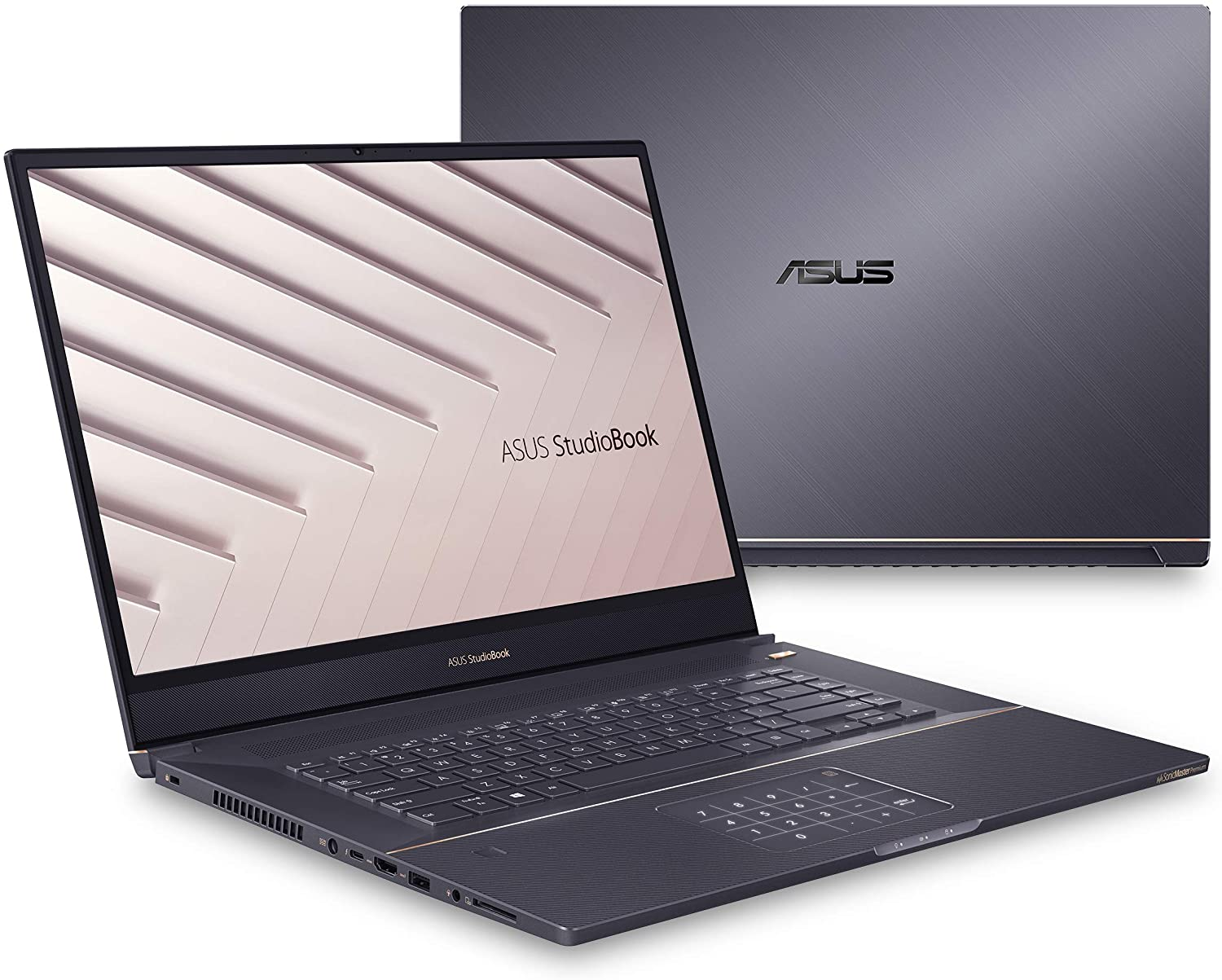 "ASUS ProArt StudioBook Pro 17 Mobile Workstation Laptop, 17"" WUXGA NanoEdge Bezel, Intel Core i7-9750H, 16GB DDR4, 1TB PCIe SSD, Nvidia Quadro RTX 3000 Max Q, Windows 10 Pro, Star Grey, W700G3T-XS77"