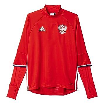Homme À Pour Manches Longues T Shirt Adidas Russe nkXw8PZON0