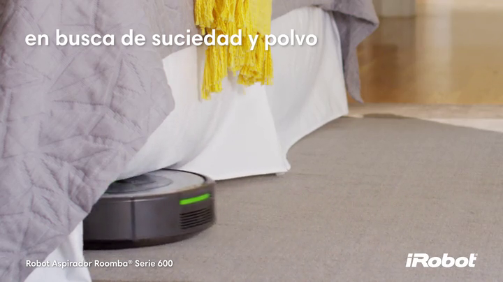 iRobot Roomba 680- Robot aspirador para suelos duros y alfombras ...