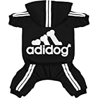 Scheppend Original Adidog Pet Clothes for Dog Cat Puppy Hoodies Coat Winter Sweatshirt Warm Sweater Dog Outfits