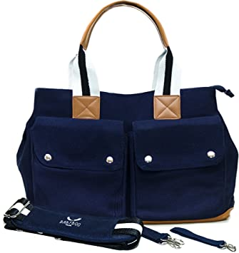 Diaper Bag by Babyboo 16 - with Changing Pad and Stroller Strap - Baby Bag - 6c6fff9721665
