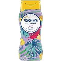 Deals on Coppertone ULTRA GUARD Sunscreen Lotion SPF 70 8oz