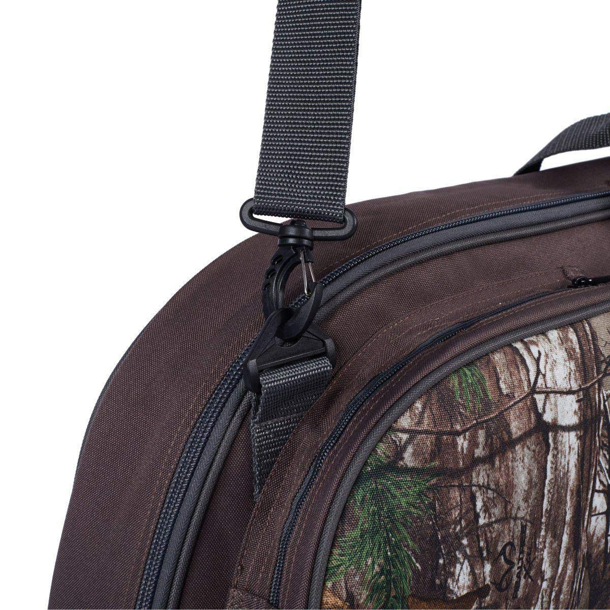 Bow Secured with Fastening Straps Mesh Pockets Inside Length 35.4 Legend Archery Crusader Compound Bow Case Backpack