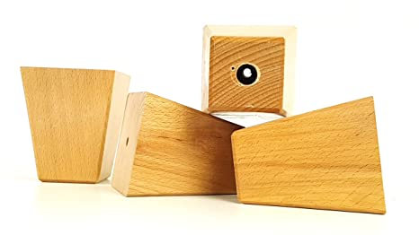 Knightsbrandnu u piedini di ricambio in legno per divani sedie