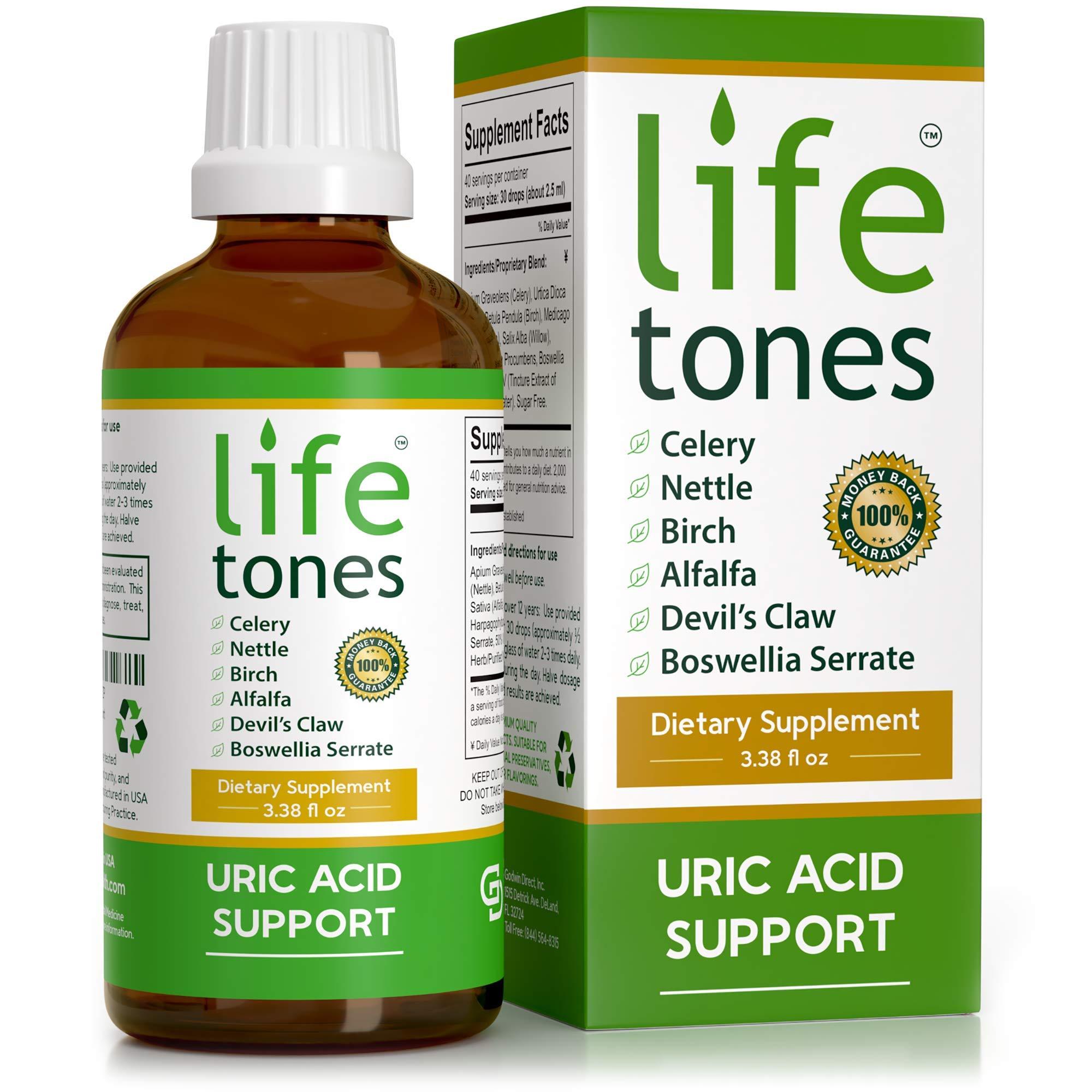 Lifetones Uric Acid Support   3.38 fl oz