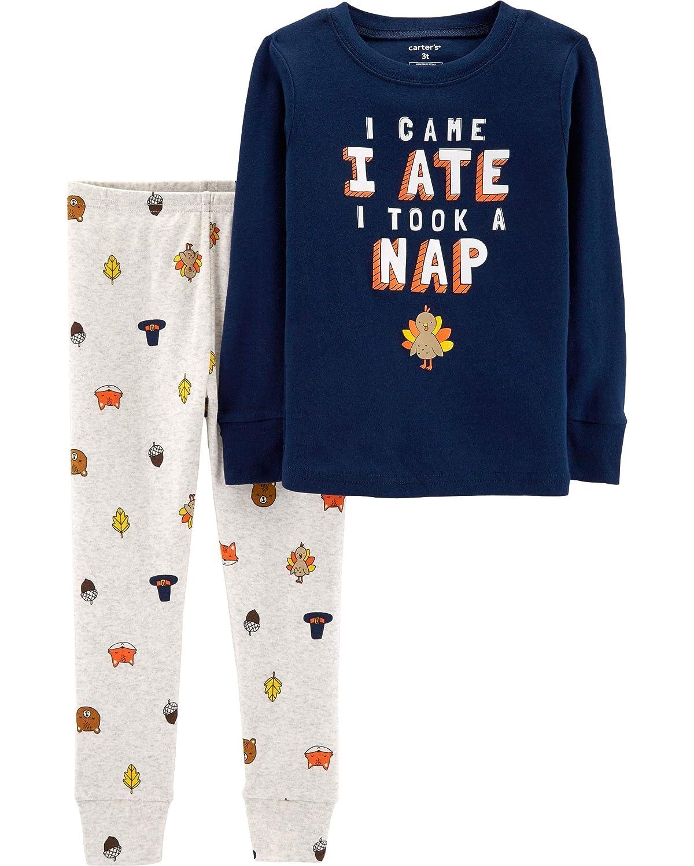 199f2af52b1d Amazon.com  Carter s Unisex Baby 2-Piece Snug Fit Cotton ...
