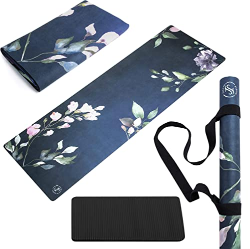 June Juniper Travel Yoga Mat Foldable Lightweight