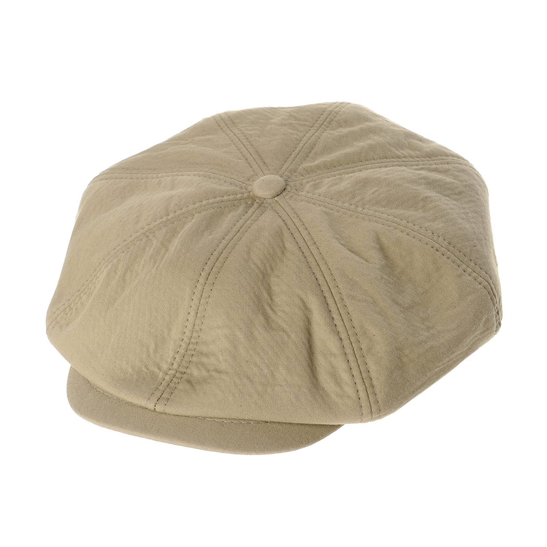 WITHMOONS Cool Cotton Baker Boy Flat Cap Monochrome Beret Ivy Hat LD3603  (Beige) at Amazon Men s Clothing store  210bb384cb9