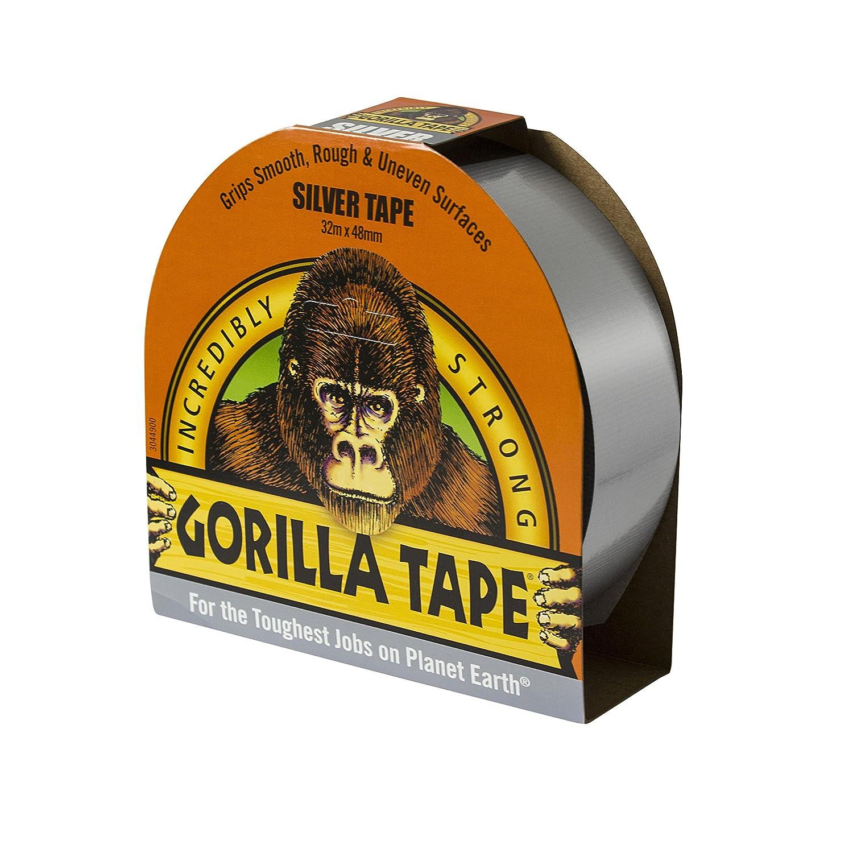 GORILLA 3044901 32 m Tape for Uneven Surfaces - Silver GORILLA GLUE EUROPE LTD