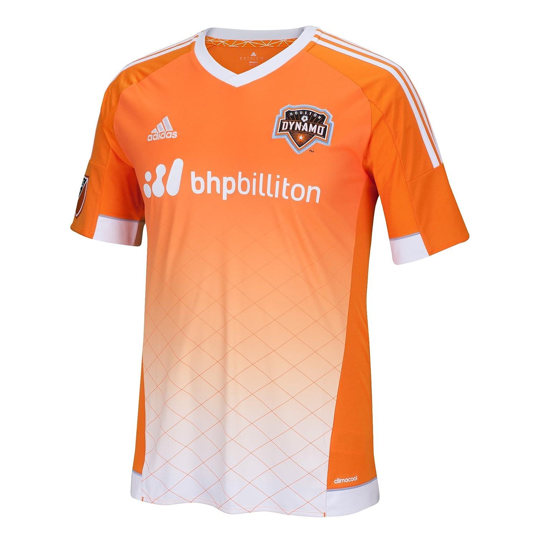 Amazon.com : adidas MLS Houston Dynamo Mens Replica Short Sleeve Jersey, Medium, Orange : Sports & Outdoors
