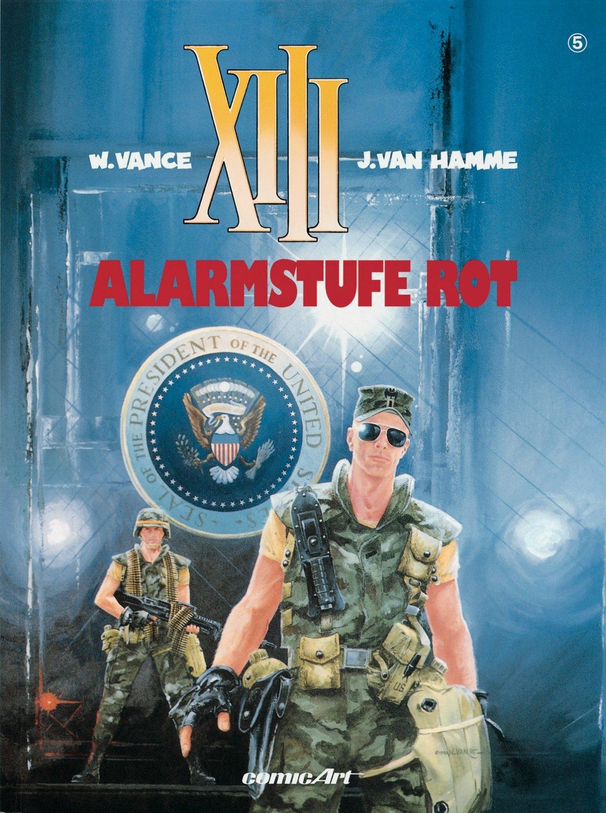 XIII, Bd.5, Alarmstufe Rot Taschenbuch – 15. Februar 2001 Vance Jean Van Hamme Carlsen 3551717958