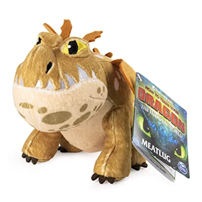 "Dreamworks Dragons, Meatlug 8"" Premium Plush Dragon, for Kids Aged 4 & Up: Toys & Games"