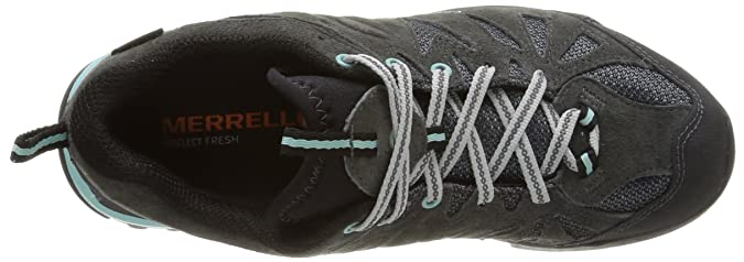 Amazon.com | Merrell Capra GTX Mens Hiking Shoe, Dark Grey, US8.5 | Hiking Shoes