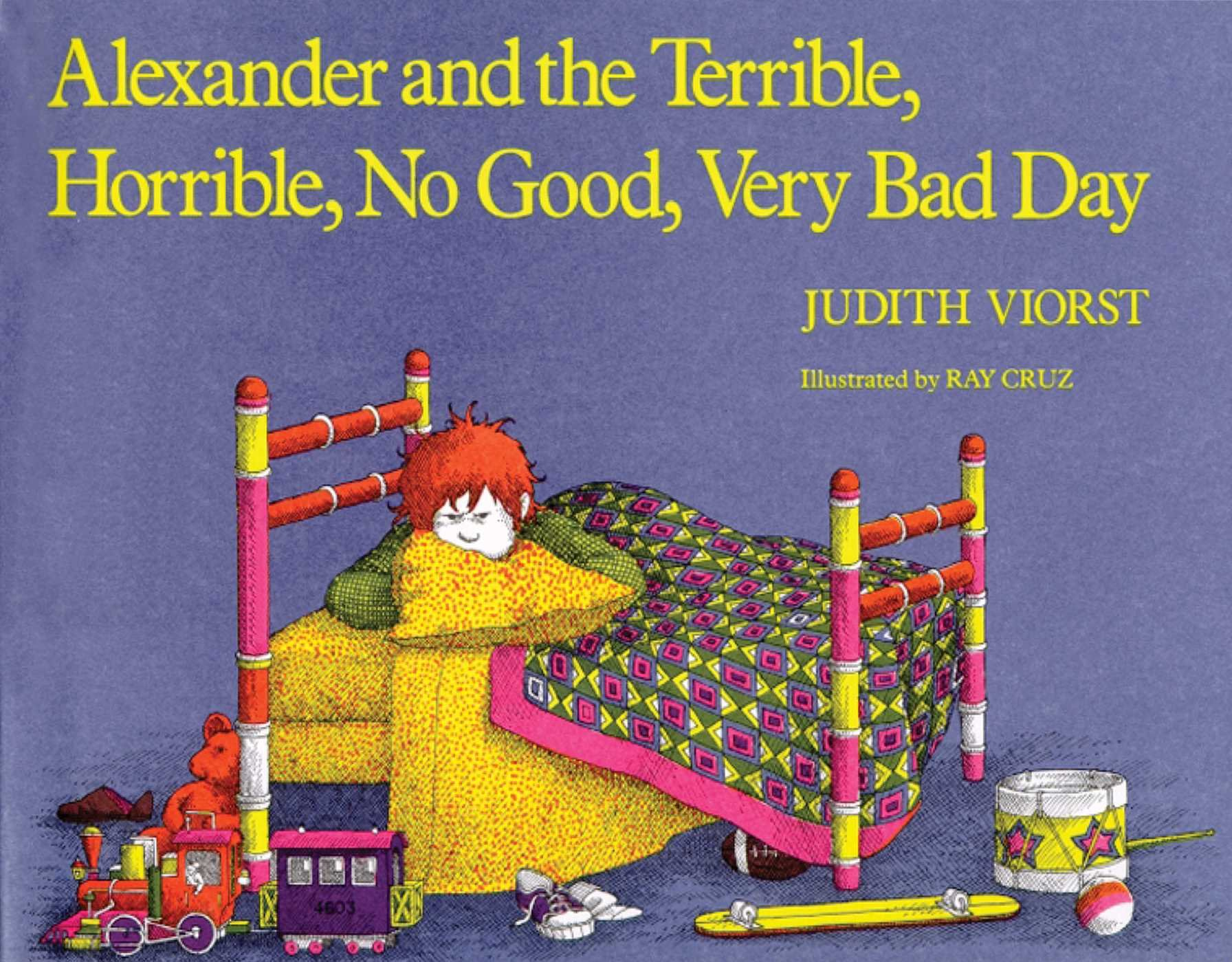 Image result for alexander terrible horrible no good very bad day