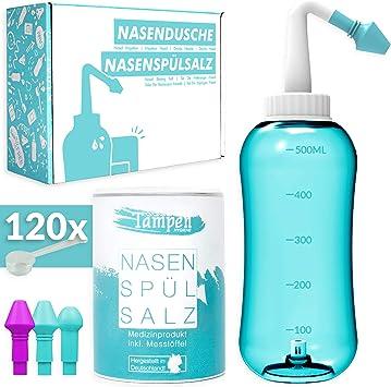 Agua limpia como descarga nasal