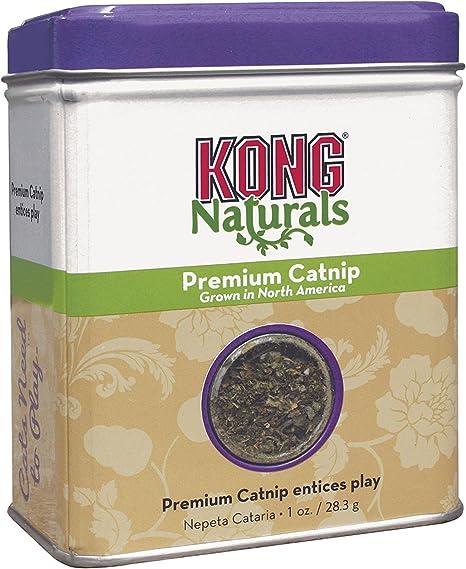 Amazon Com Kong Naturals Catnip 1 Oz Catnip Toys Pet Supplies