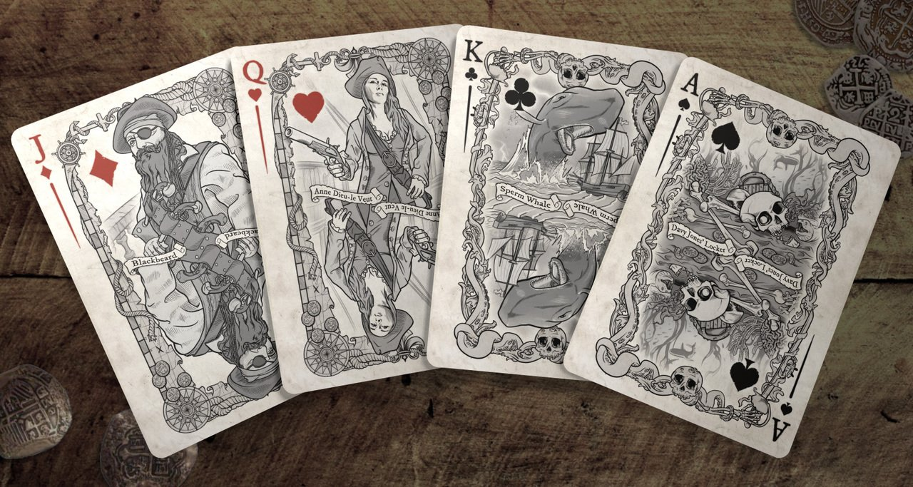 Brain Vessel Cargo Master Collection, Set of 4 Playing Card Decks by Brain Vessel Cargo (Image #2)