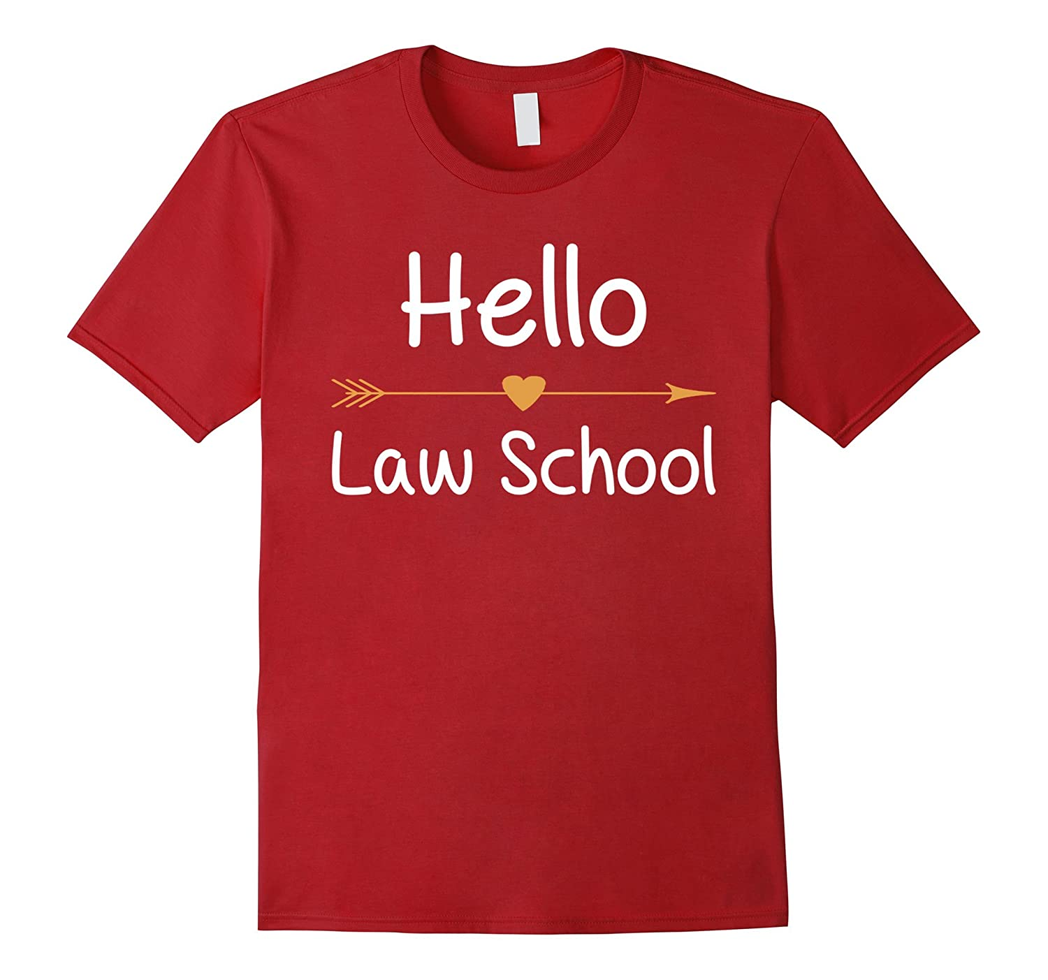 Hello Law School T-Shirt Gift for New School Year-Art