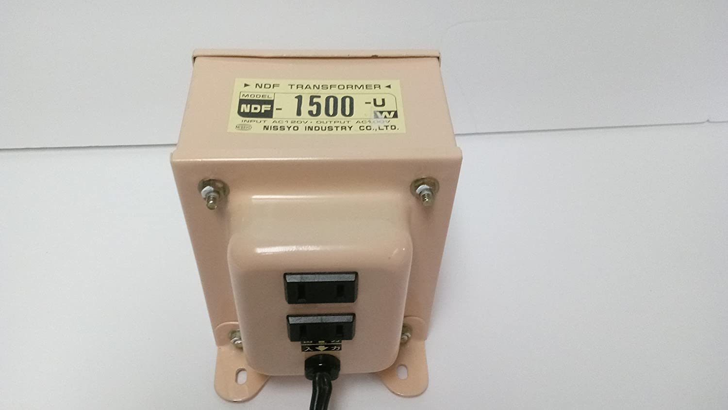 Nissyo Converter Nf Series (Decrease Voltage)120v→100v1500w Ndf-1500u(Henatsuki)