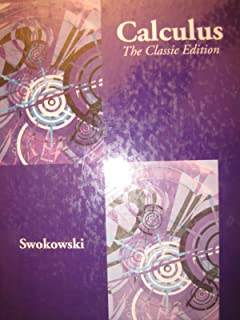 swokowski calculus student solutions manual 5th edition vol 1 rh amazon com Calculus Equations Calculus Worksheets with Solutions
