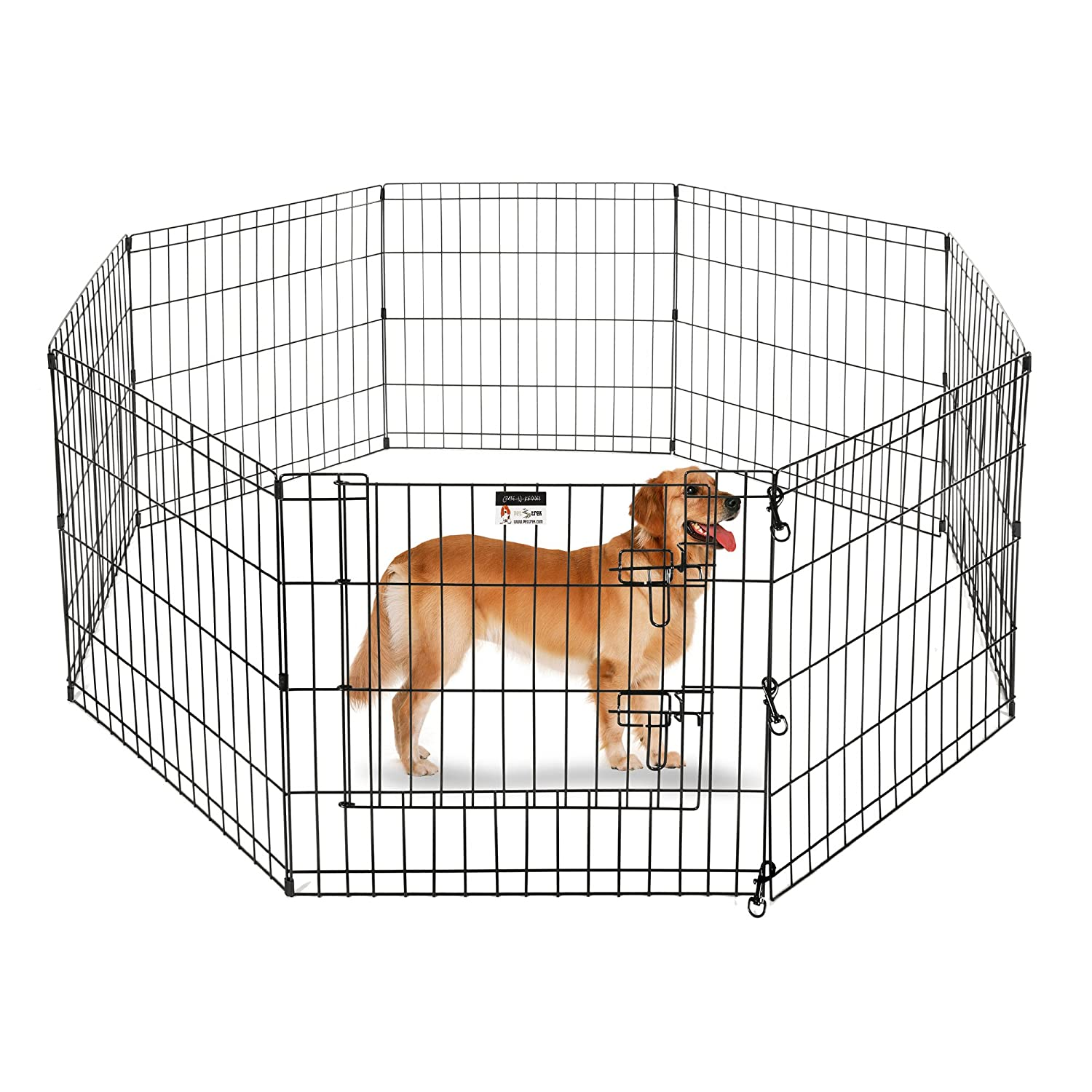 24\ Pet Trex 24  Playpen for Dogs Eight 24  Wide x 24  High Panels