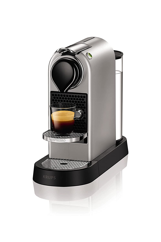 Krups YY2733FD Independiente Totalmente automática Máquina de café en cápsulas 1L 1tazas Plata - Cafetera (Independiente, Máquina de café en cápsulas, 1 L, ...