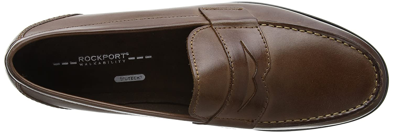 Rockport Classic Loafer Penny Dark Brown, Mocasines para Hombre: Amazon.es: Zapatos y complementos