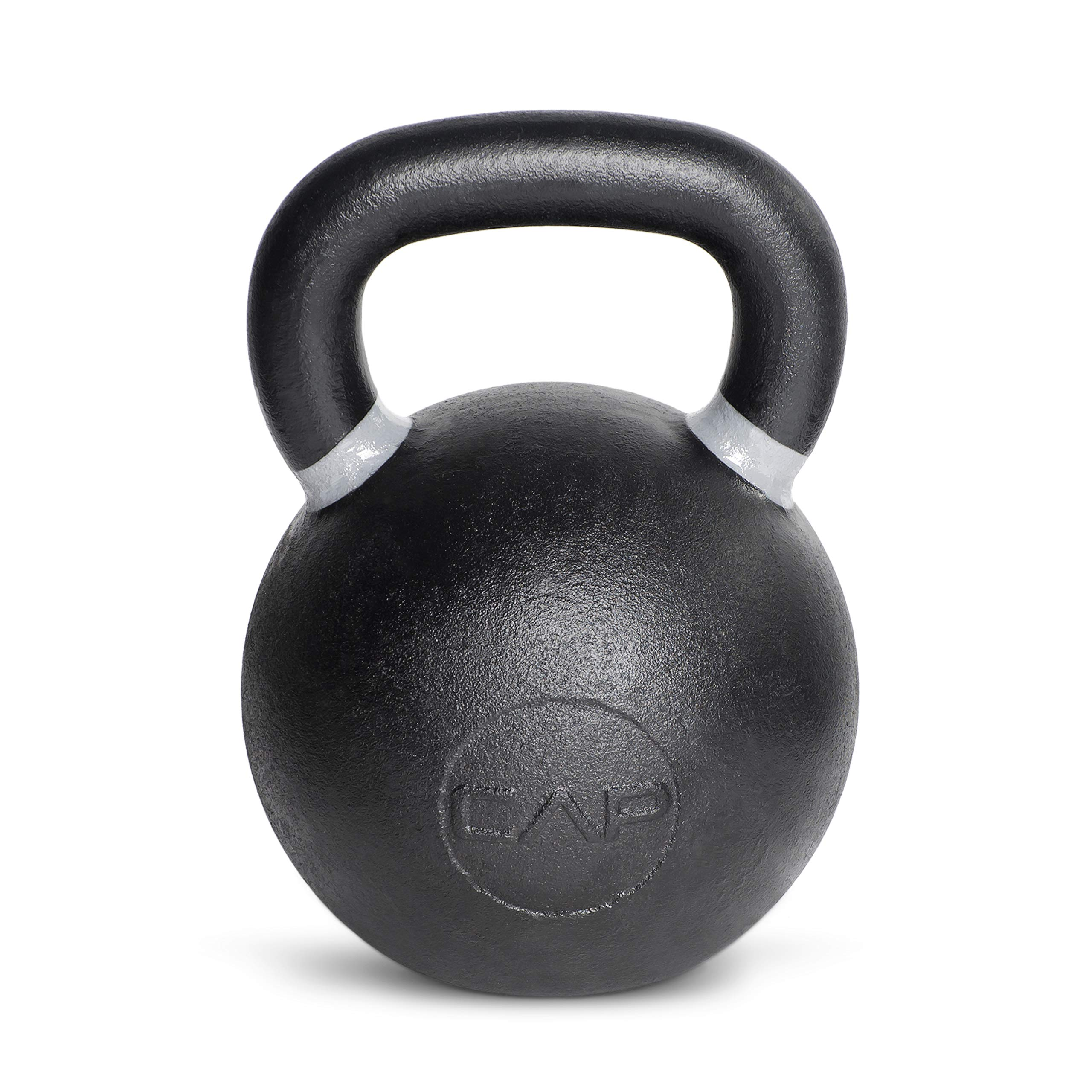 CAP Barbell Cast Iron Competition Kettlebell Weight, 80 Pound, Black/Gray