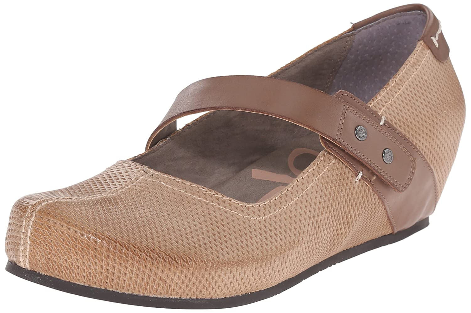 OTBT Women's Salem Mary Jane Flat B017AJ0B52 7.5 B(M) US|Hickory Brown