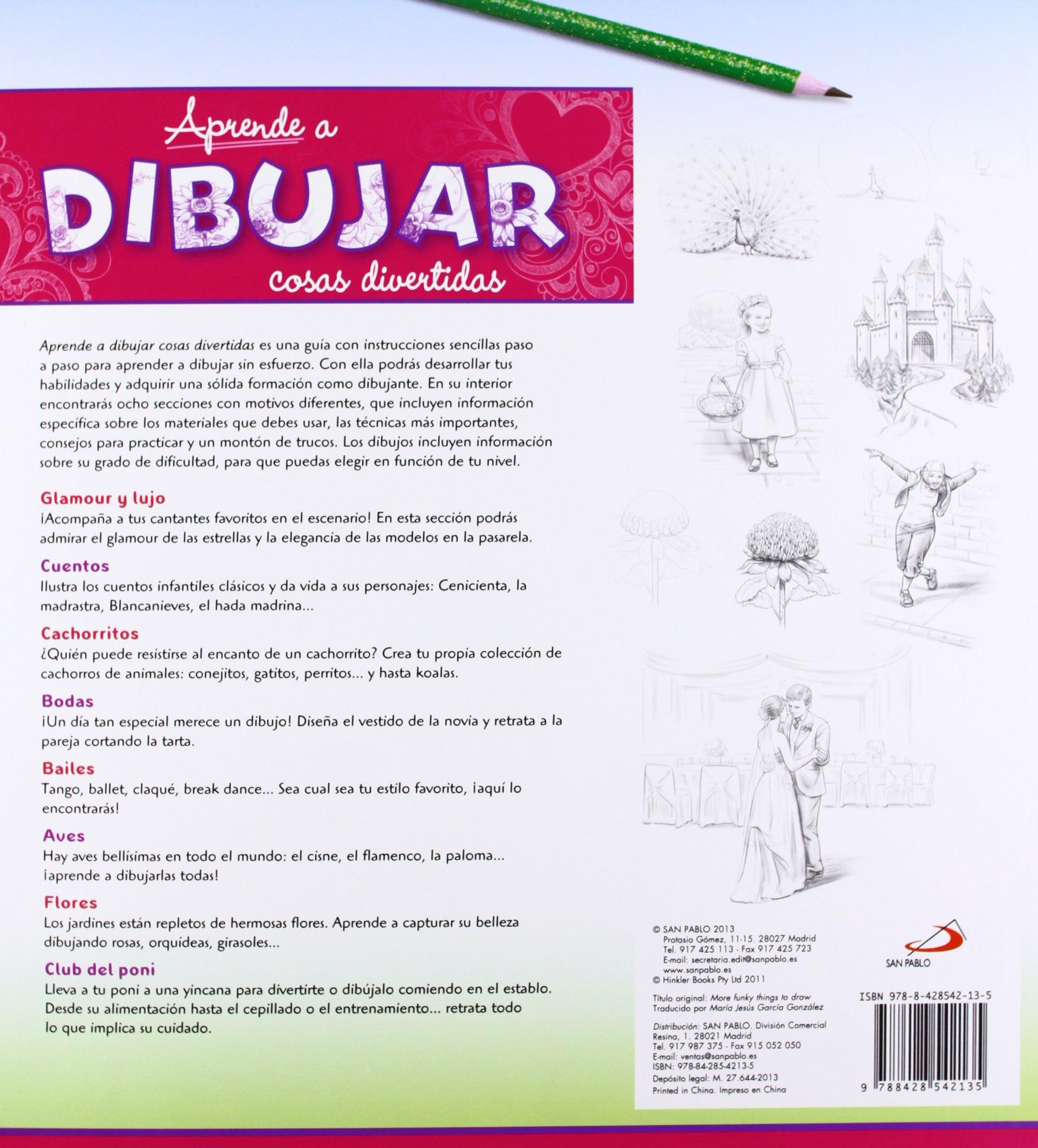 Aprende a dibujar cosas divertidas: Kate Ashforth: 9788428542135: Amazon.com: Books