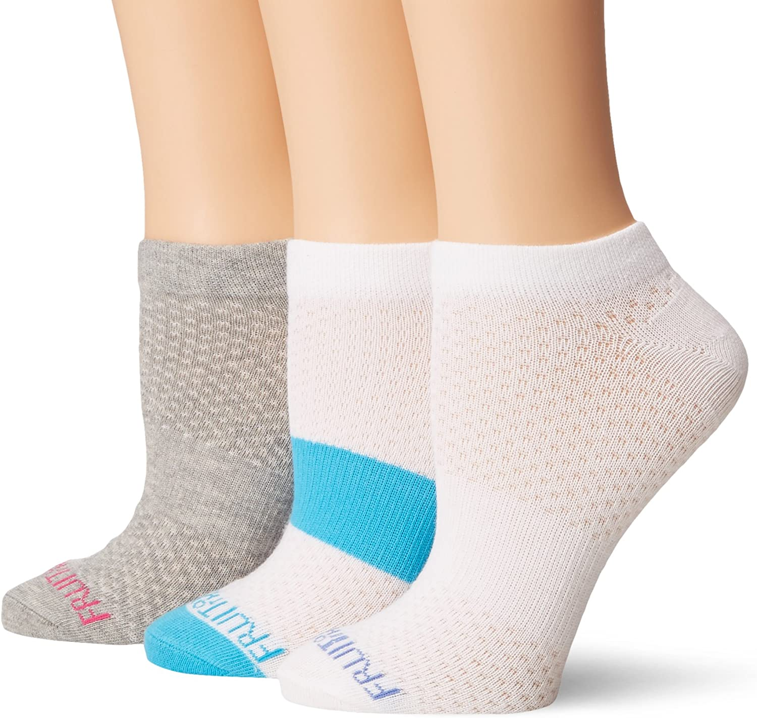 Hanes Womens Ultimate Lightweight Vent No Show Sock 6-Pack