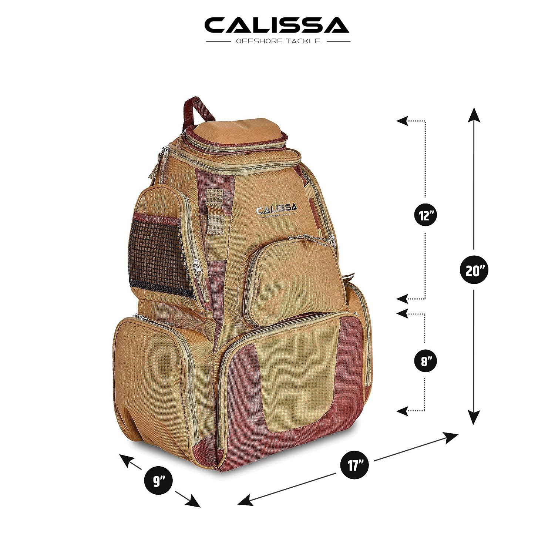 The X-Large Blackstar Fishing Backpack, Tackle Box Storage Bag – Non-Corrosive Fishing Tackle Bag with 4X 3650 Boxes -Fisherman Gifts for Men, Tackle Backpacks Tackle Box