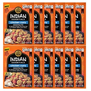 Simply Asia Indian Essentials Chicken Curry Seasoning Mix, 1.06 Ounce - 12 per case.