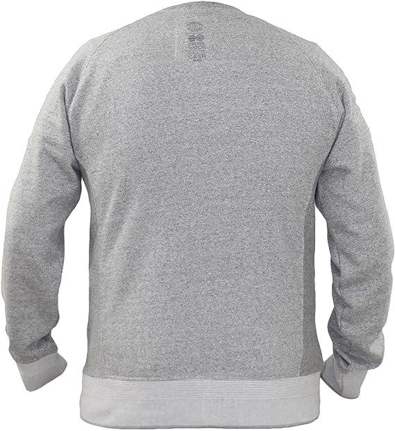 Crosshatch Herren Sweatshirt Truman Crew grau (231) S
