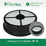 Eureka HF-16 (HF16) HEPA Replacement Filter, Part #'s 68115, 68715, 68115A & 67806. Designed by FilterBuy to fit Eureka Air Speed Zuum AS5203A Upright Vacuum