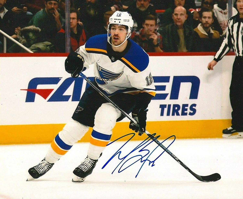 quality design b280c b2bfb Autographed Zach Sanford Photo - 8X10 COA - Autographed NHL ...