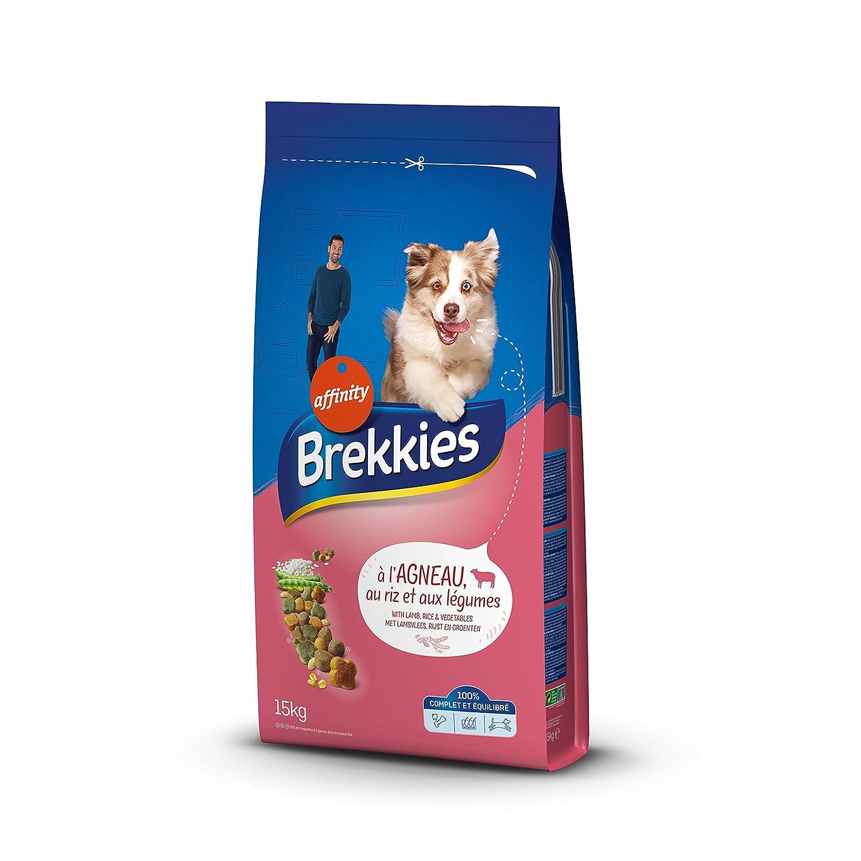 Brekkies Excel Croquettes pour Chien Adulte Multicroc Agneau 15 kg 920791