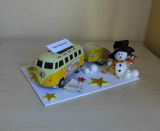 Geldgeschenk Weihnachten Winter Wohnmobil Bus Amazon De Handmade