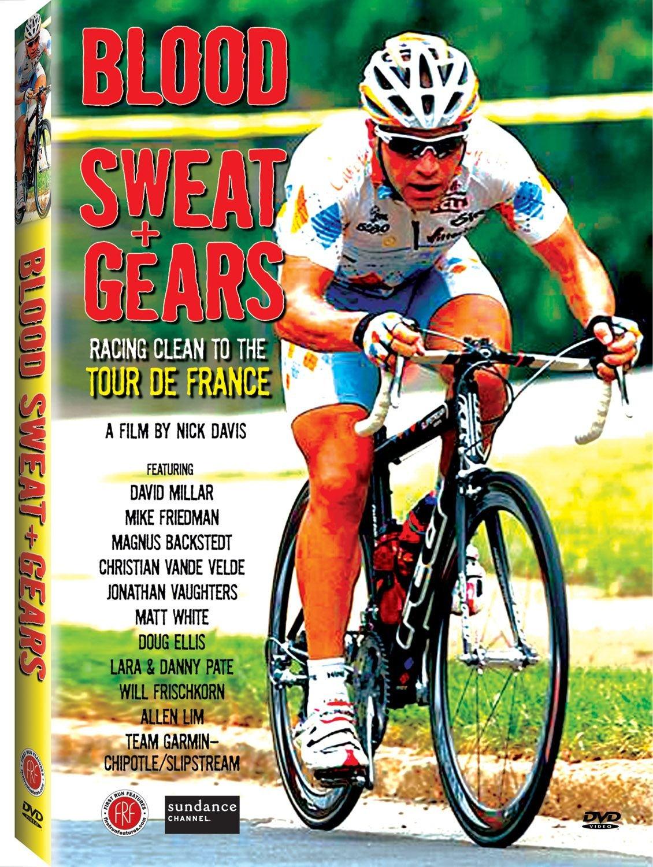 DVD : Christian Vande Velde - Blood, Sweat & Gears (Widescreen)