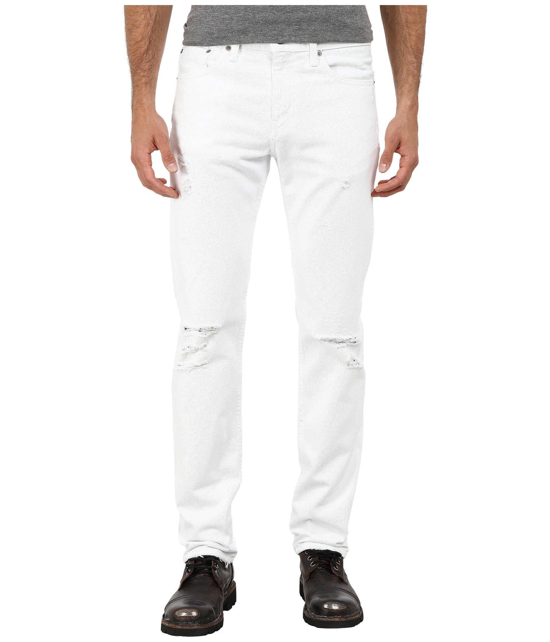Galleon Slim Levi's Jean Optic 511 Fit Men's Whiteoutbull Denim rqrBUA
