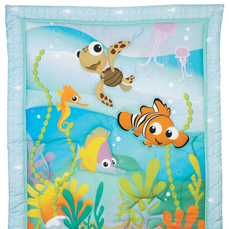 Nemo s reef 4 piece crib bedding set disney baby - Amazon Com 6 Pieces Disney Nemo S Reef Crib Bedding Mobile And Bumper Set Baby