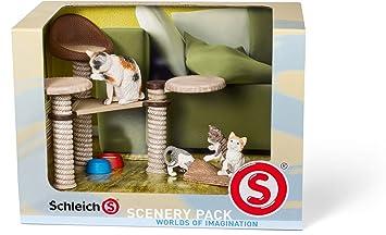 Schleich 41801 - Figura/ miniatura Catálogo de Paisaje paquete de gatos
