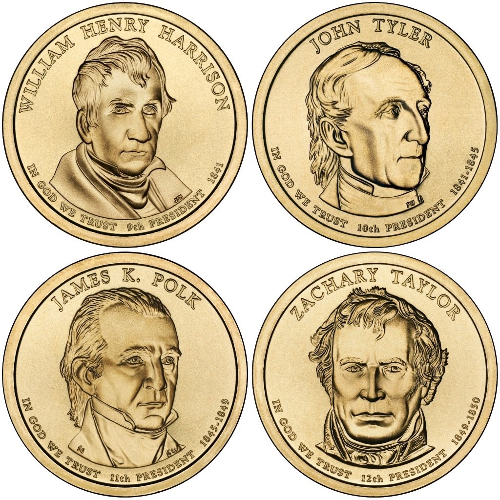 2009 P /& D William H Harrison Presidential Set   **FREE SHIPPING