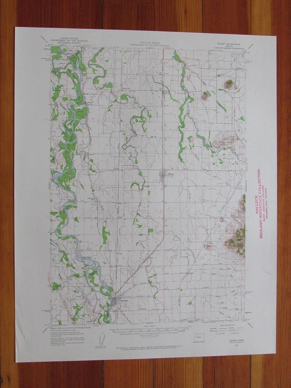 Halsey Oregon Map Amazon.com: Halsey Oregon 1959 Original Vintage USGS Topo Map